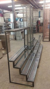 Mild steel back bar framework (39)