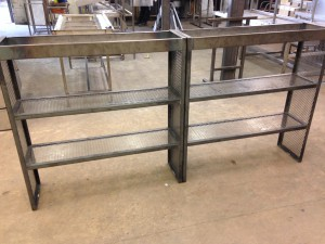 Mild steel back bar framework  (10)