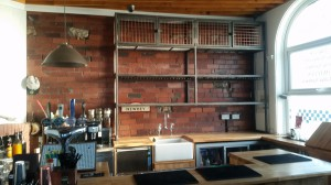 Mild steel back bar framework  (3)
