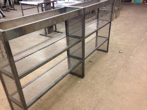 Mild steel back bar framework  (9)